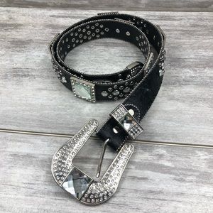 WESTERN Bedazzeled studded belt